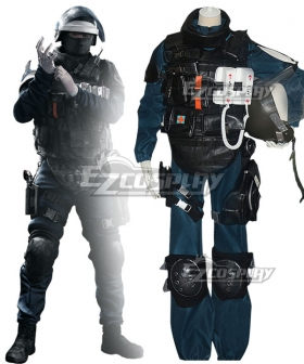 Rainbow Six Siege Gustave Kateb Doc Halloween Cosplay Costume