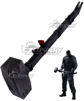 Rainbow Six Siege Sledge Seamus Cowden Hammer Cosplay Weapon Prop