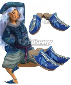Raya And The Last Dragon Sisu Blue Cosplay Shoes