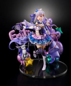 Re: Life In A Different World From Zero Emilia  Idol Cosplay Costume