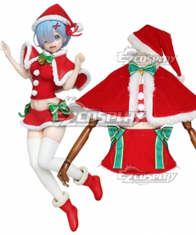 Re: Life In A Different World From Zero Rem Christmas Cosplay Costume