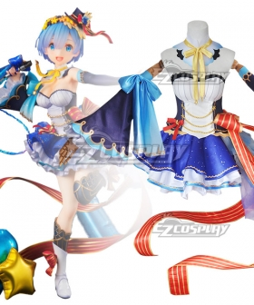 Re: Life In A Different World From Zero Rem Idol Cosplay Costume