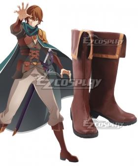 Redo of Healer  Keyaruga Brown Shoes Cosplay Boots