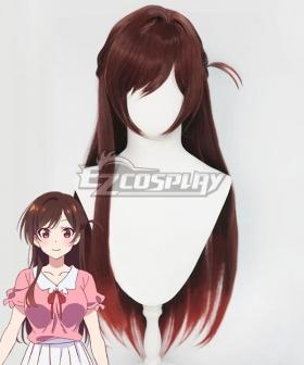 Rent a Girlfriend Kanojo Okarishimasu Chizuru Ichinose Mizuhara Chizuru Brown Cosplay Wig