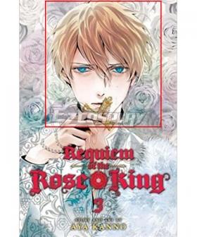 Requiem of the Rose King Henry VI Golden Cosplay Wig