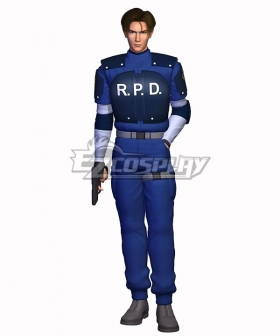 Resident Evil 2 Leon S. Kennedy R.P.D Cosplay Costume