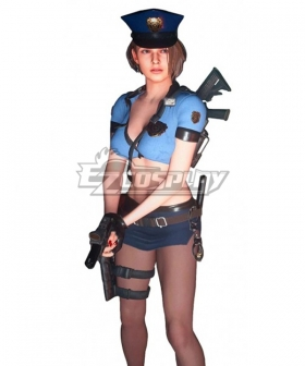 Resident Evil 3 Remake Jill Valentine Uniform Outfit Halloween Carnival Cosplay Costume