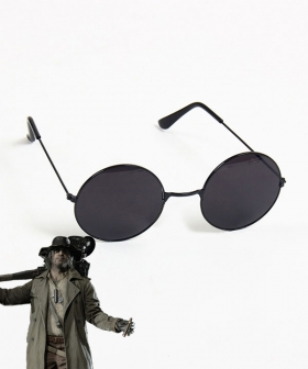 Resident Evil 8 Village Karl Heisenberg Glasses Cosplay Accessory Prop