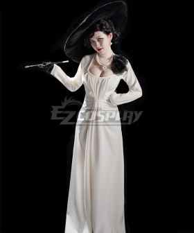 Resident Evil 8 Village Vampire Lady Dress Cosplay Costume
