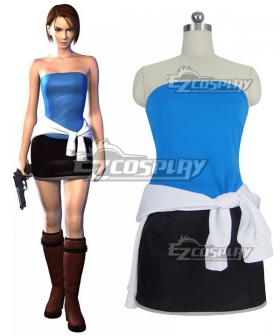 Resident Evil Game Jill Valentin Cosplay Costume Simple Edition