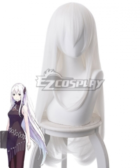 Re:Zero Re: Life In A Different World From Zero Echidna White Cosplay Wig - 400G