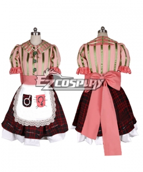 Alice: Madness Returns Alice Cosplay Costume - Pink