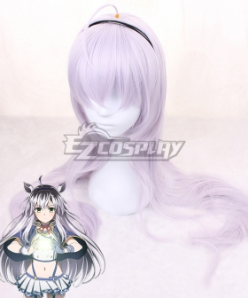 Akashic Records of Bastard Magic Instructor Rokudenashi Majutsu Koushi to Akashic Records Sistine Fibel Purple Cosplay Wig