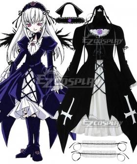 Rozen Maiden Suigintou Lolita Cosplay Costume