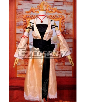 Ruler Project Diva Extend Meiko Lolita Cosplay Costume-Y323