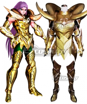 Saint Seiya Aries Mu Cosplay Costume