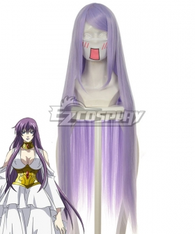 Saint Seiya Knights of the Zodiac Athena Purple Light Purple Cosplay Wig 038B