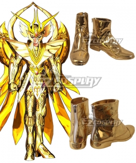 Saint Seiya Shaka Golden Cosplay Shoes