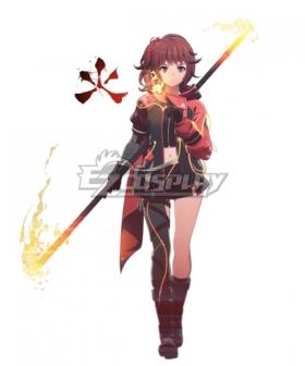 Scarlet Nexus Hanabi Cosplay Costume