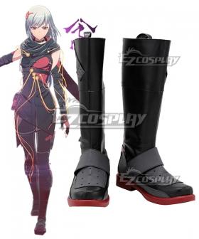 Scarlet Nexus  Kasane Randall Black Shoes Cosplay Boots