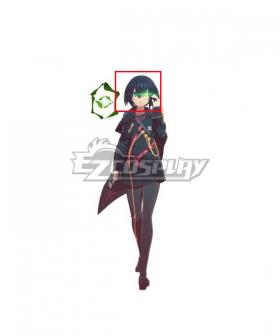Scarlet Nexus  Tsugumi Nazar Black Cosplay Wig