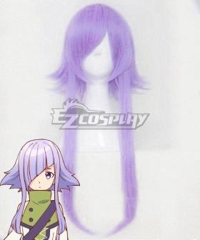 Seven Senses of the Re'Union Shichisei no Subaru Elicia Purple Cosplay Wig