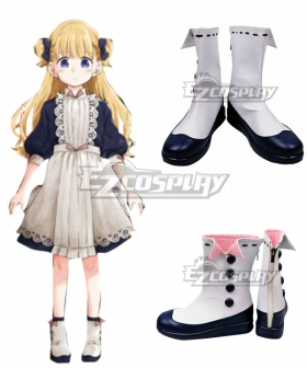 Shadows House Emilyko White Cosplay Shoes