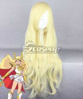 She-Ra and the Princesses of Power Adora She-Ra Golden Cosplay Wig