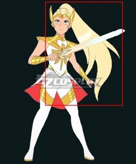 She-Ra and the Princesses of Power Season 5 Adora She-ra Golden Cosplay Wig