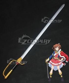 Shoujo Kageki Revue Starlight Karen Aijou Sword Cosplay Weapon Prop