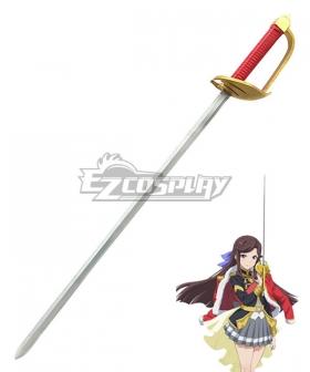 Shoujo Kageki Revue Starlight Maya Tendo Sword Cosplay Weapon Prop