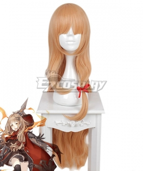 SINoALICE Little Red Riding Hood Crusher Yellow Cosplay Wig