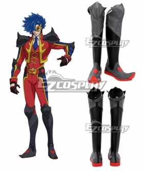 SK8 the Infinity SK∞ Adam Black Shoes Cosplay Boots
