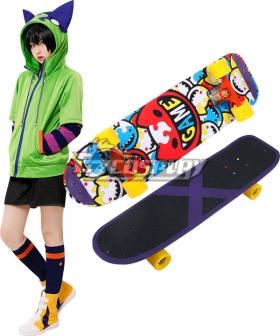 SK8 the Infinity SK∞ Miya Skateboard Cosplay Weapon Prop