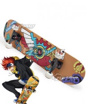 SK8 the Infinity SK∞ Reki Skateboard Cosplay Weapon Prop