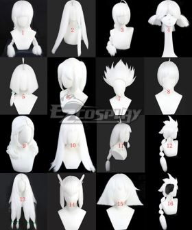 Sky: Children of the Light All Hairsytle White Cosplay Wig