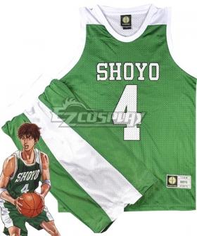 Slam Dunk Fujima Kenji Shoyo Cosplay Costume
