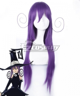 Soul Eater Blair Witch Purple Cosplay Wig