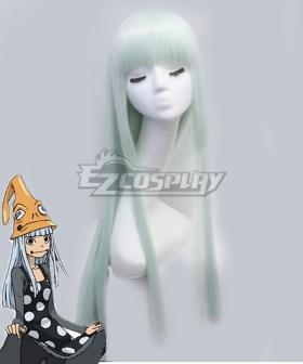 Soul Eater Eruka Frog Light Blue Green Cosplay Wig
