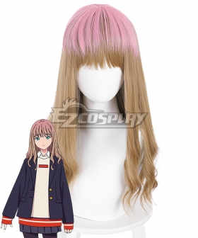 SSSS.DYNAZENON Minami Yume Brown Cosplay Wig