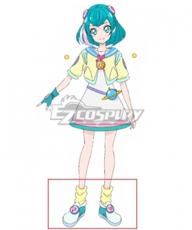 Star Twinkle PreCure Cure Milky Hagoromo Lala Daily Blue Cosplay Shoes