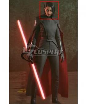 Star Wars Jedi: Fallen Order Trilla Suduri The Second Sister Black Cosplay Wig