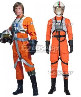 Star Wars Luke Skywalker X-Wing Pilot Fighter Cosplay Costume