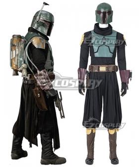 Star Wars Mandalorian Season 3 Boba Fett Cosplay Costume