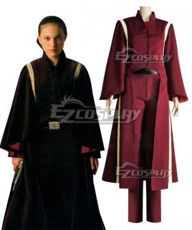 Star Wars Padme Naberrie Amidala Battle suit Cosplay Costume