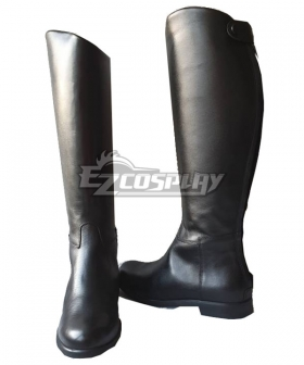 Star Wars Patrol Trooper Black Shoes Cosplay Boots