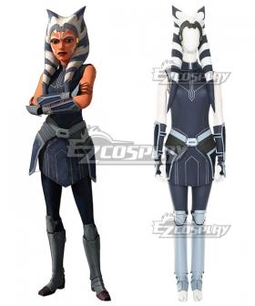 Star Wars The Clone Wars Ahsoka Tano Cosplay Costume
