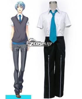Starry Sky Seigatsu Academy School Male Summer Uniform 3rd Blue Tie Cosplay Costume