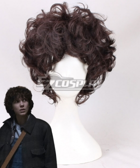 Stranger Things Eleven Brown Cosplay Wig