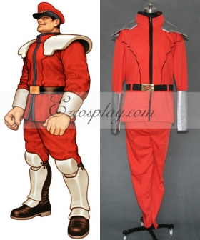 Street Fighter M.Bison Cosplay Costume